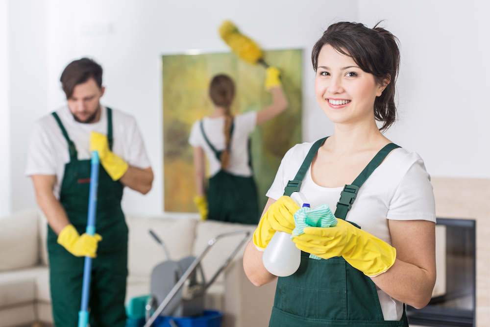 bundle services ltd image of cleaners
